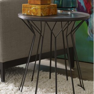 Alysia End Table by Turn on th..