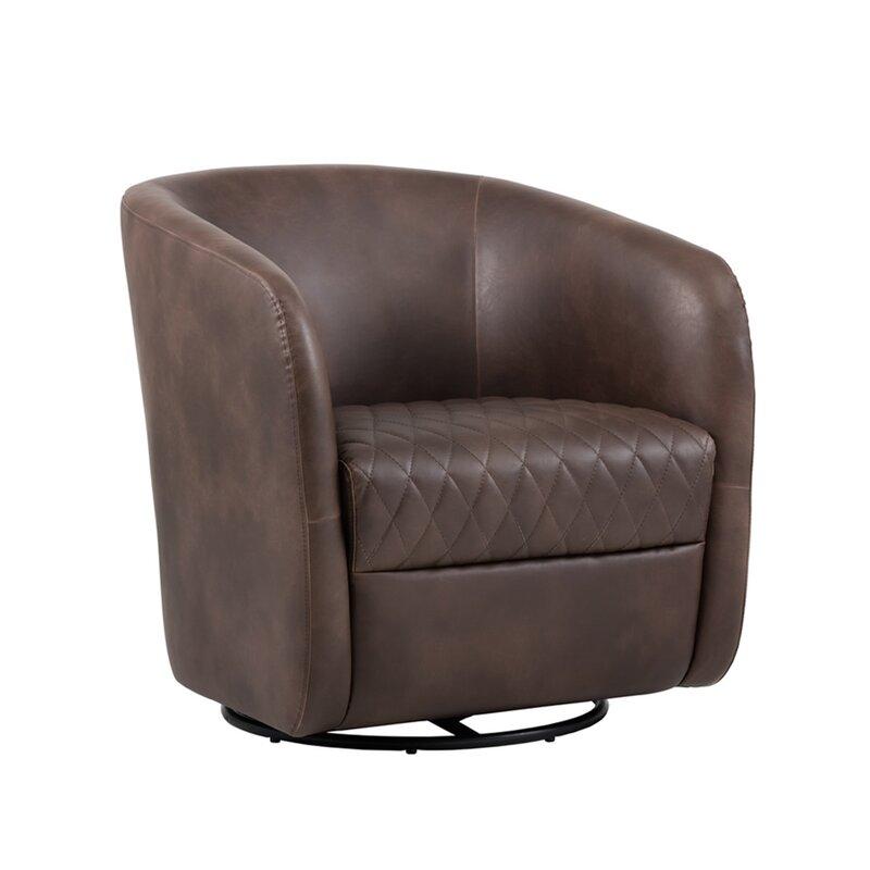 5West Swivel Barrel Chair