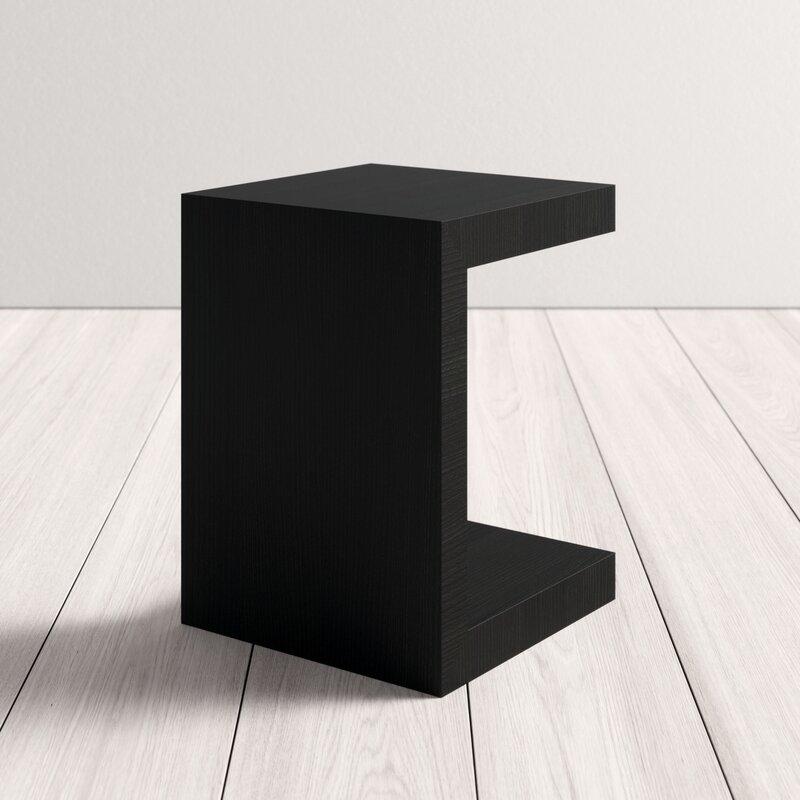 Allmodern Jansen End Table With Storage Reviews Wayfair