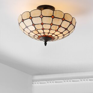 Buenrostro 2-Light Semi Flush Mount by Canora Grey