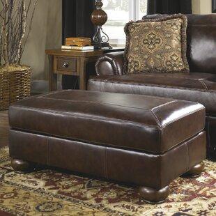 Stewartsville Leather Ottoman