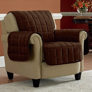 Deluxe Box Cushion Armchair Slipcover by Sure Fit