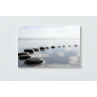 Stones Motif Magnetic Wall Mounted Cork Board By Ebern Designs