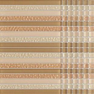 Crystile Random Sized Glass Mosaic Tile