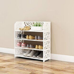 Looking for Multipurpose 4 Tier Shoe Rack By Rebrilliant