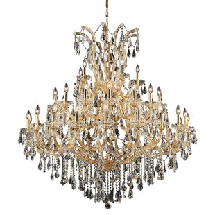 House of Hampton Hiott 41-Light Crystal Chandelier