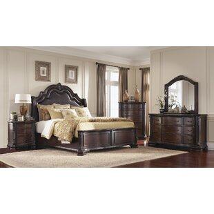 Canora Grey DuPalais Upholstered Panel Bed