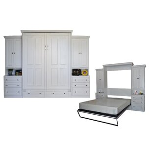 Sunset Dune Queen Storage Murphy Bed by Longshore Tides