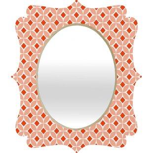 East Urban Home Persimmon Quatrefoil Accent Mirror