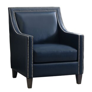 Stahlman Faux Leather Armchair