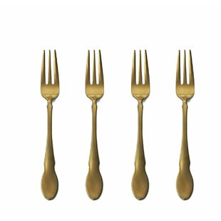 Stainless Steel Cocktail Fork (Set of 4)
