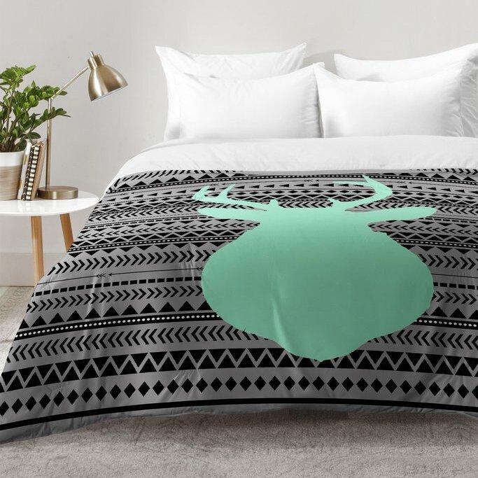 Excellent East Urban Home Deer and Aztec Comforter Set | Wayfair VZ41