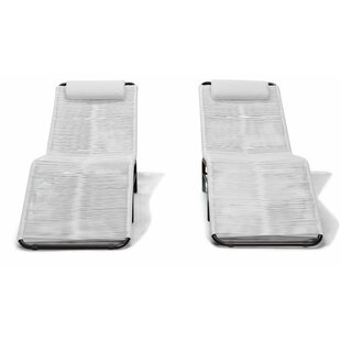 Ehrlich Single Chaise Lounge (Set of 2) by Ivy Bronx
