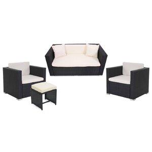 5-Sitzer Sofa-Set Albaric aus Polyrattan von Garten Living