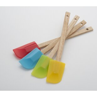 Silicone Spatulas Set (Set of 4) By Cooks on Fire