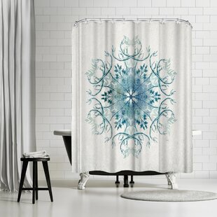 David Fleck Drift Single Shower Curtain