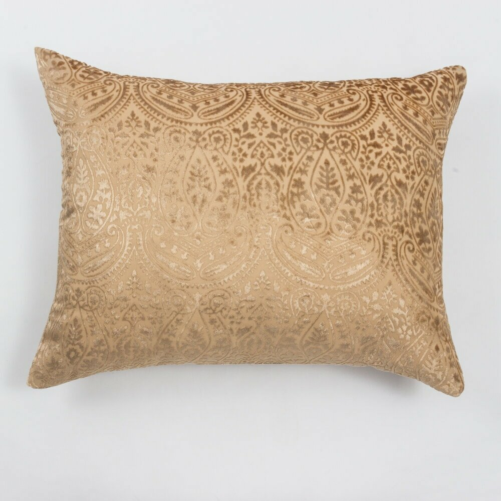 Rosdorf Park Winebrenner Linen Damask Lumbar Pillow Wayfair