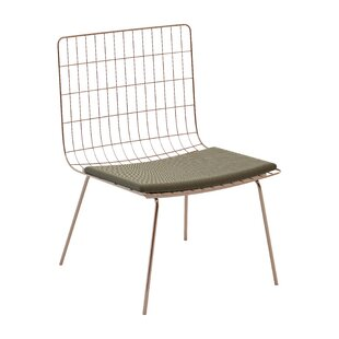 Perpetual Mesh Link Patio Chair with Cushions