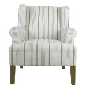 Blue Striped Accent Chairs Youu0027ll Love | Wayfair