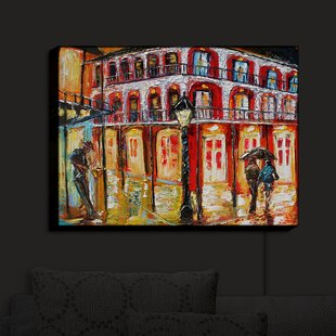Red Barrel Studio New Orleans French Quarter' Print on Fabric