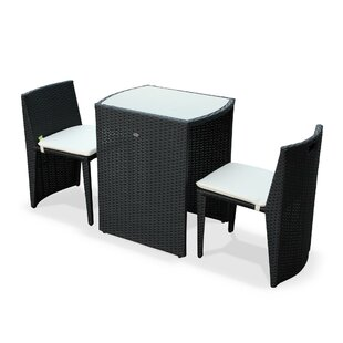 Rasmussen 2 Seater Bistro Set With Cushions By Sol 72 Outdoor