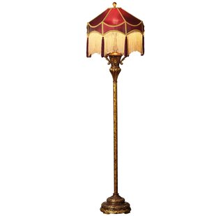 Best Reviews Crampton 66 Floor Lamp By Fleur De Lis Living