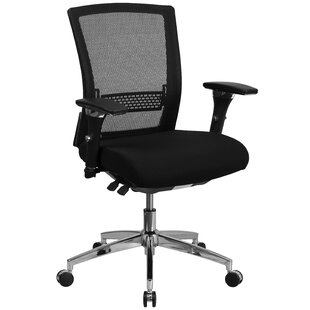 Read Reviews Loughran Mid-Back Mesh Desk Chair by Red Barrel Studio