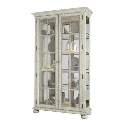 Grote Curio Cabinet by August Grove