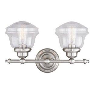 Hirsch 2-Light Vanity Light by Laurel Foundry Modern Farmhouse