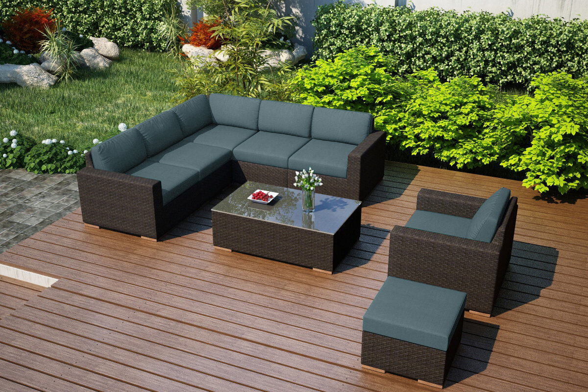 Sectional Sunbrella Fabric Included Patio Conversation Sets You Ll Love In 2021 Wayfair