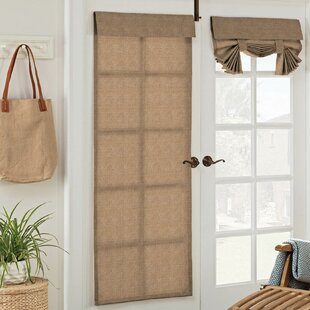 key largo solid semi sheer outdoor french door panel - Door Panel Curtains