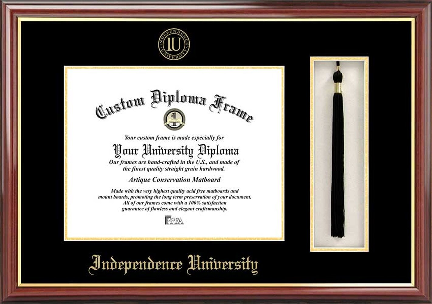 Diploma Frame Deals Independence University Petite Tassel Picture Frame Wayfair