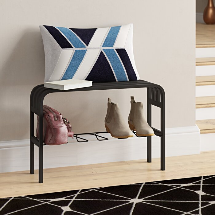Excellent Elisa Metal Entryway Bench Caraccident5 Cool Chair Designs And Ideas Caraccident5Info