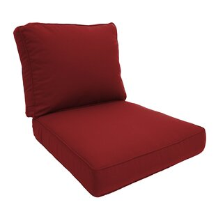 Double Piped Lounge Chair Cushion