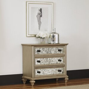Visions 3 Drawer Chest by Home Styles