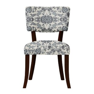 Petra Cotton Fabric Side Chair (Set of 2) by Darby Home Co