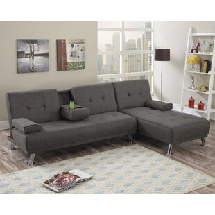 Ebern Designs Booneville Sleeper Sectional