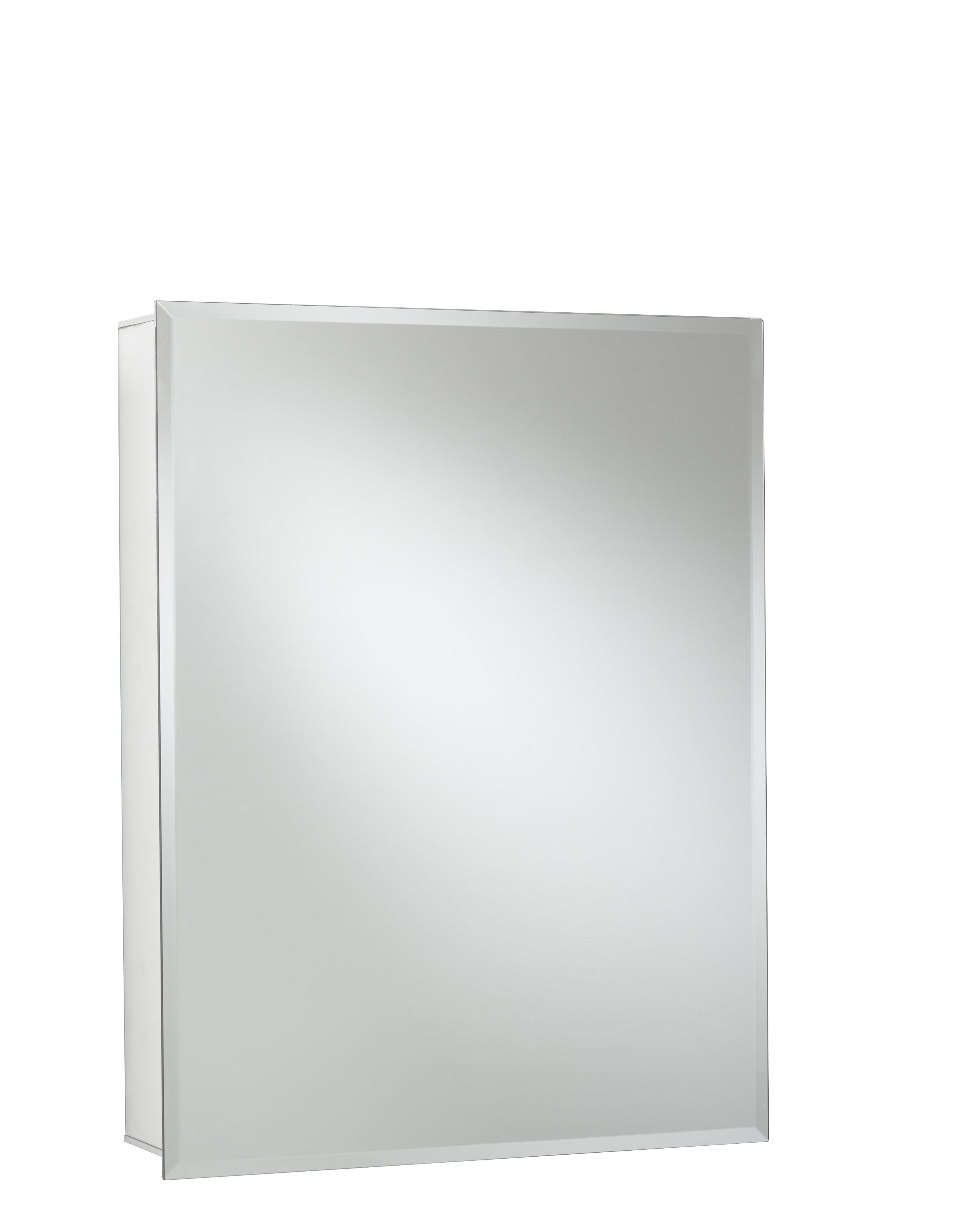 Super 24 X 30 Recessed Or Surface Mount Frameless Medicine Cabinet With 2 Adjustable Shelves Home Remodeling Inspirations Gresiscottssportslandcom
