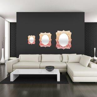 Brayden Studio Callis Quatrefoil Accent Mirror