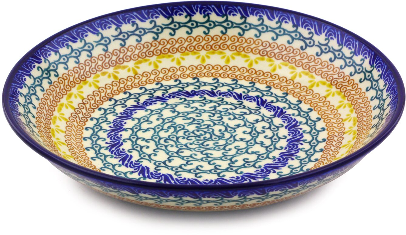 8.58\  Polish Pottery Pasta Bowl  sc 1 st  Wayfair & Polmedia 8.58\