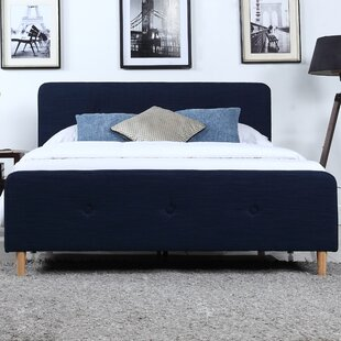 Purchase Symons Low Profile Upholstered Platform Bed by Turn on the Brights Reviews (2019) & Buyer's Guide