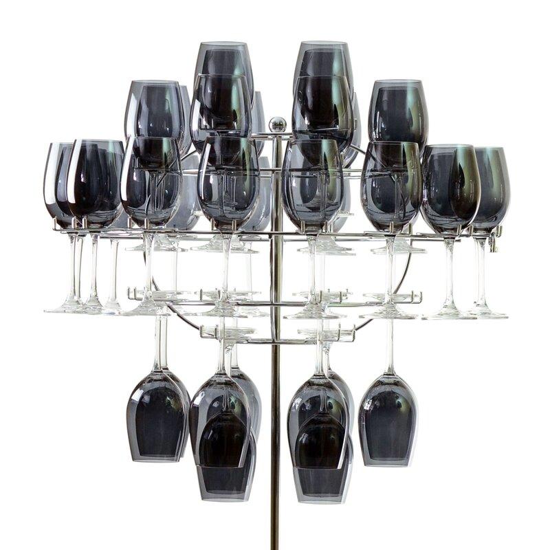 Chandelier Tabletop Wine Glass Rack