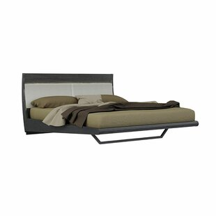 Labelle Wooden Upholstered Sleigh Bed