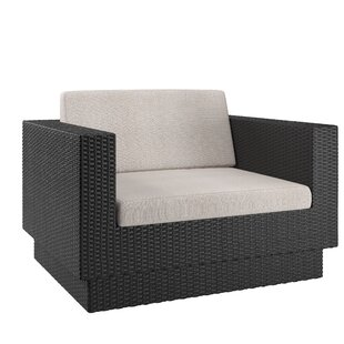 Chretien Armchair with Cushions