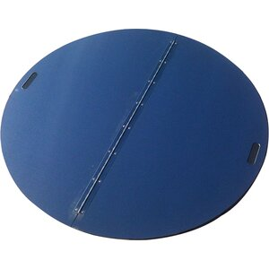 Round Snuffer Fire Pit Cover