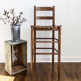 Pellerin Ladder Back 30 Bar Stool by Gracie Oaks Design