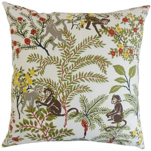 Dorine Foliage Floor Pillow