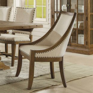 Woosley Upholstered Dining Chair (Set of 2) Gracie Oaks