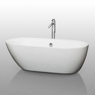 Top Reviews Melissa 65 x 31.25 Soaking Bathtub By Wyndham Collection