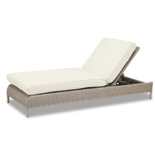 Sunset West Manhattan Chaise Lounge with Cushion